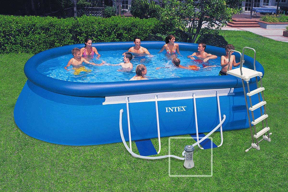 Cat gorie piscine page 4 du guide et comparateur d 39 achat for Piscine intex ellipse ovale 5 49x3 05x1 07