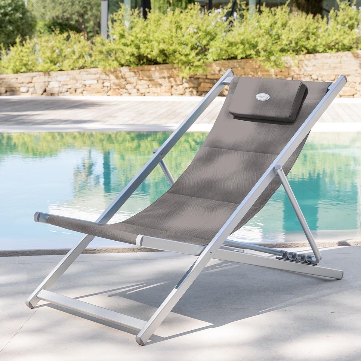 Chaise longue chilienne 2 for Chaise longue jardin prix
