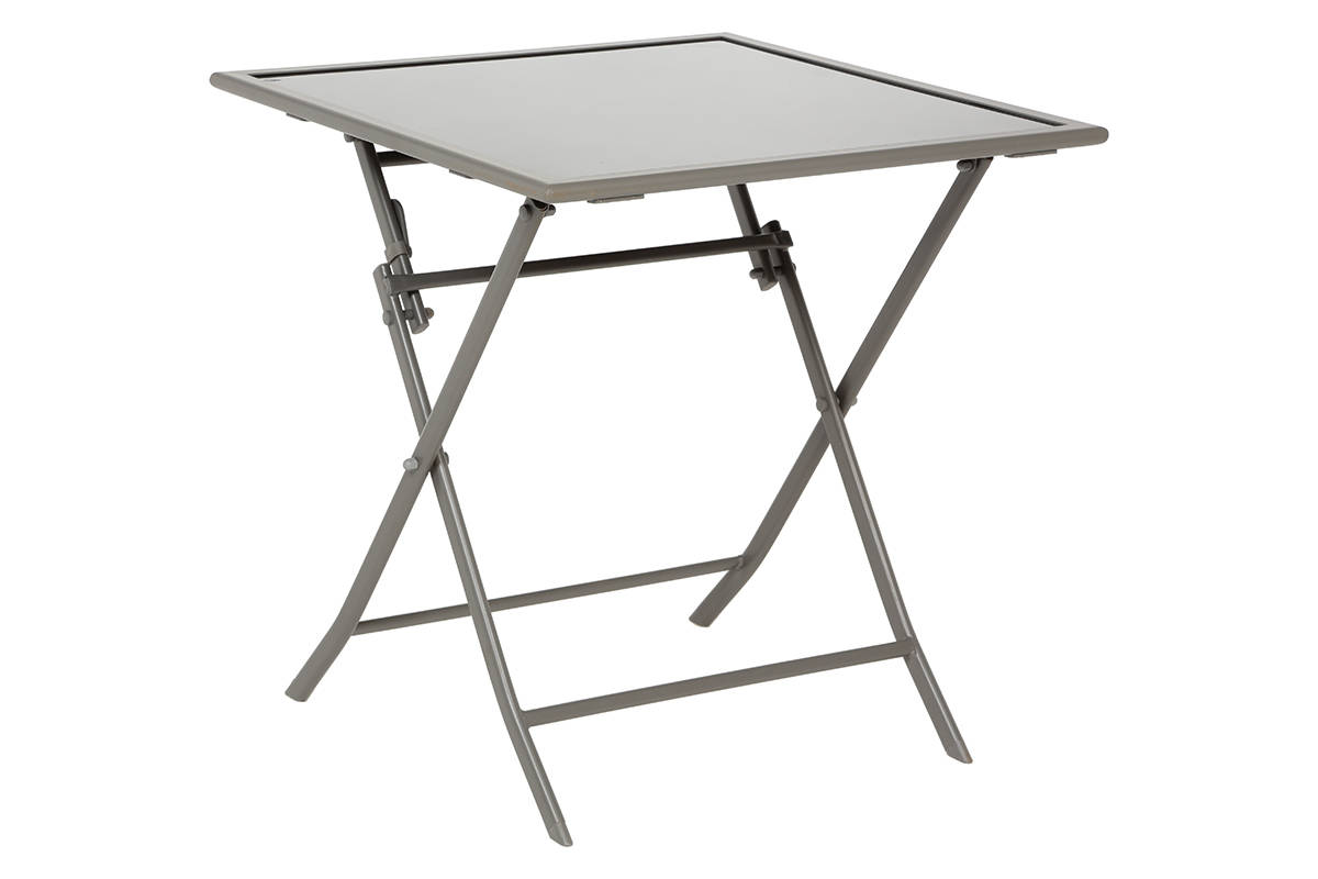 Table pliante avec chaises integrees nimes 2139 for Table a carte pliante